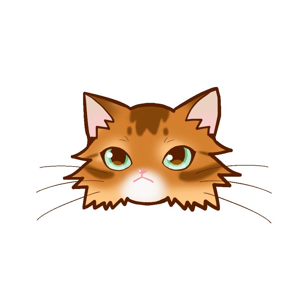 猫イラストまんじゅうソマリレッド