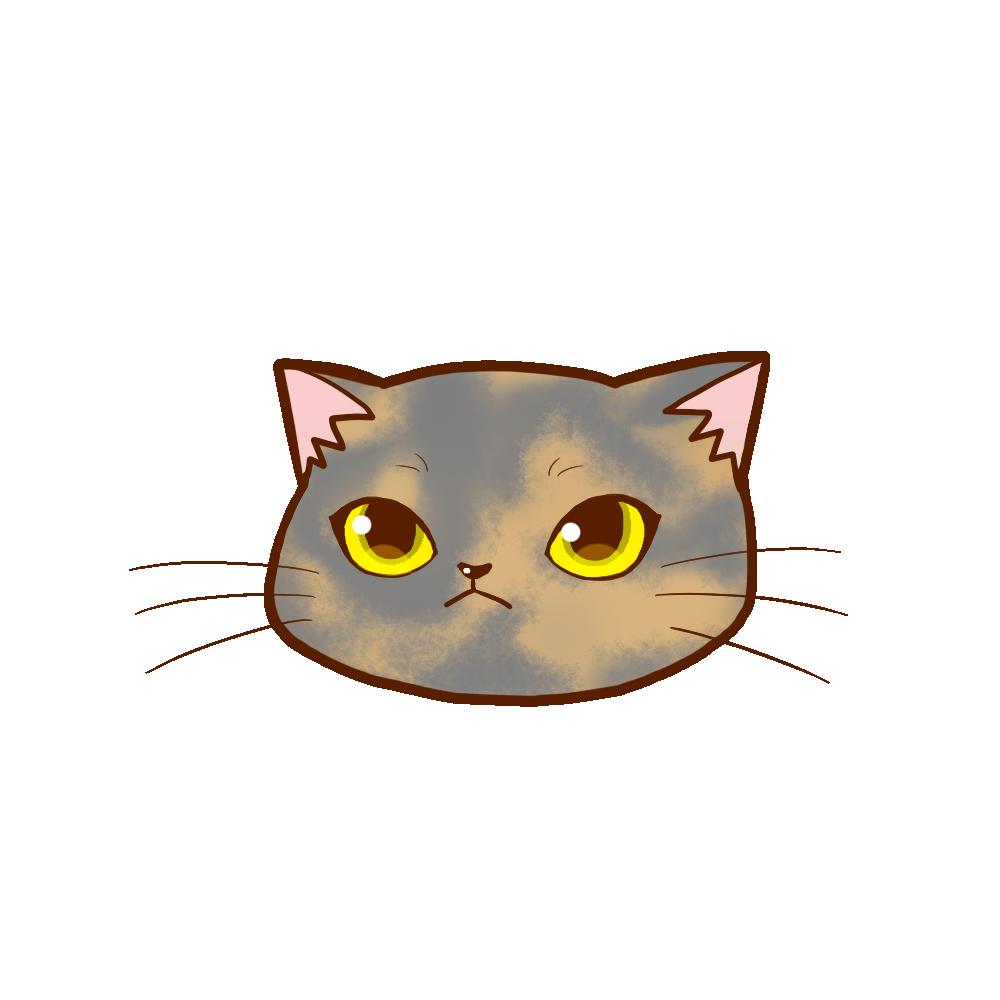 猫イラストまんじゅうサビダイリュート