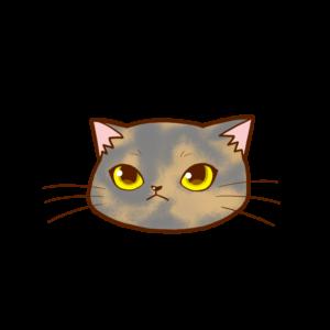 猫イラストまんじゅう顔Aサビダイリュート