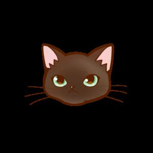 猫イラストまんじゅうバーミーズ
