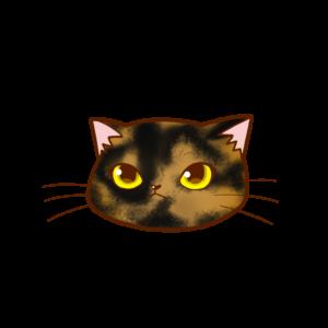 猫イラストまんじゅう顔Aサビ