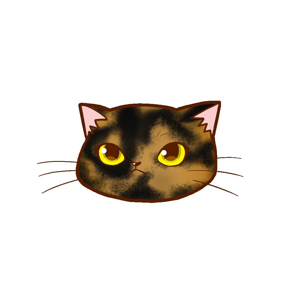 猫イラストまんじゅうサビ