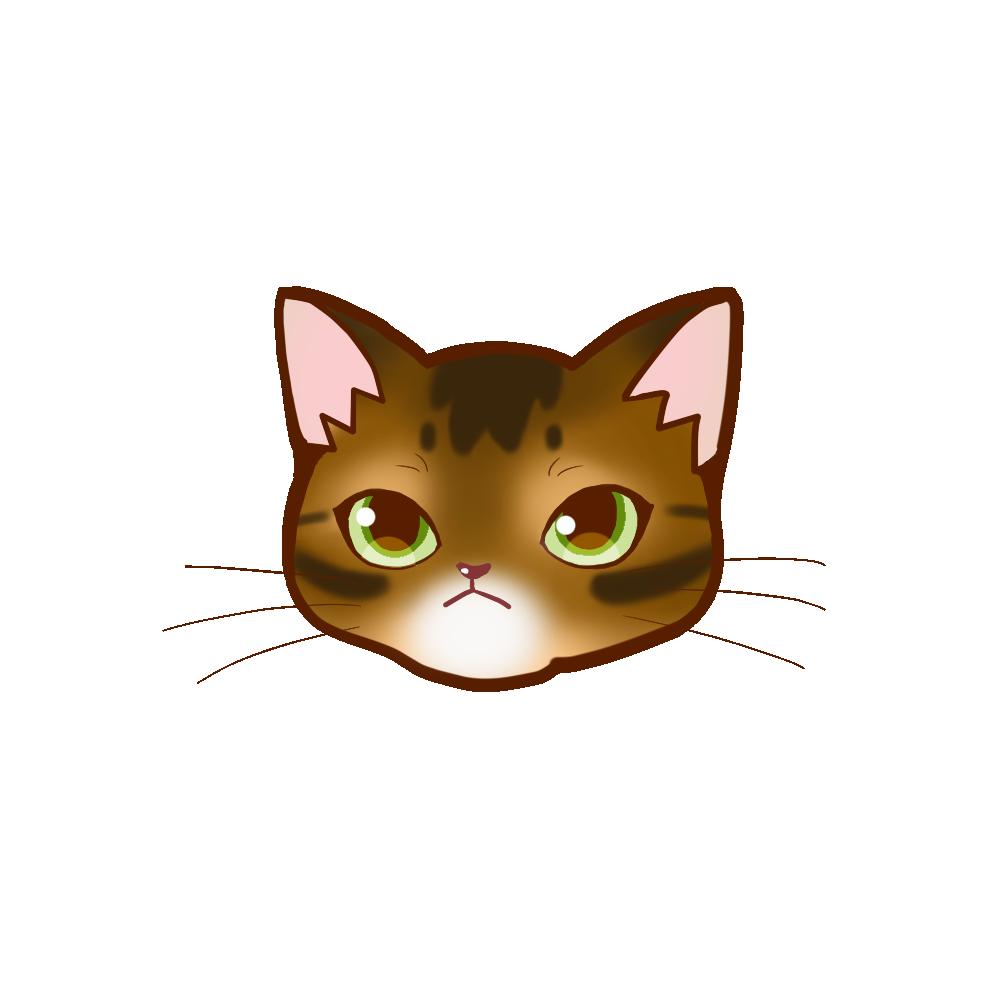 猫イラストまんじゅうアビルディ