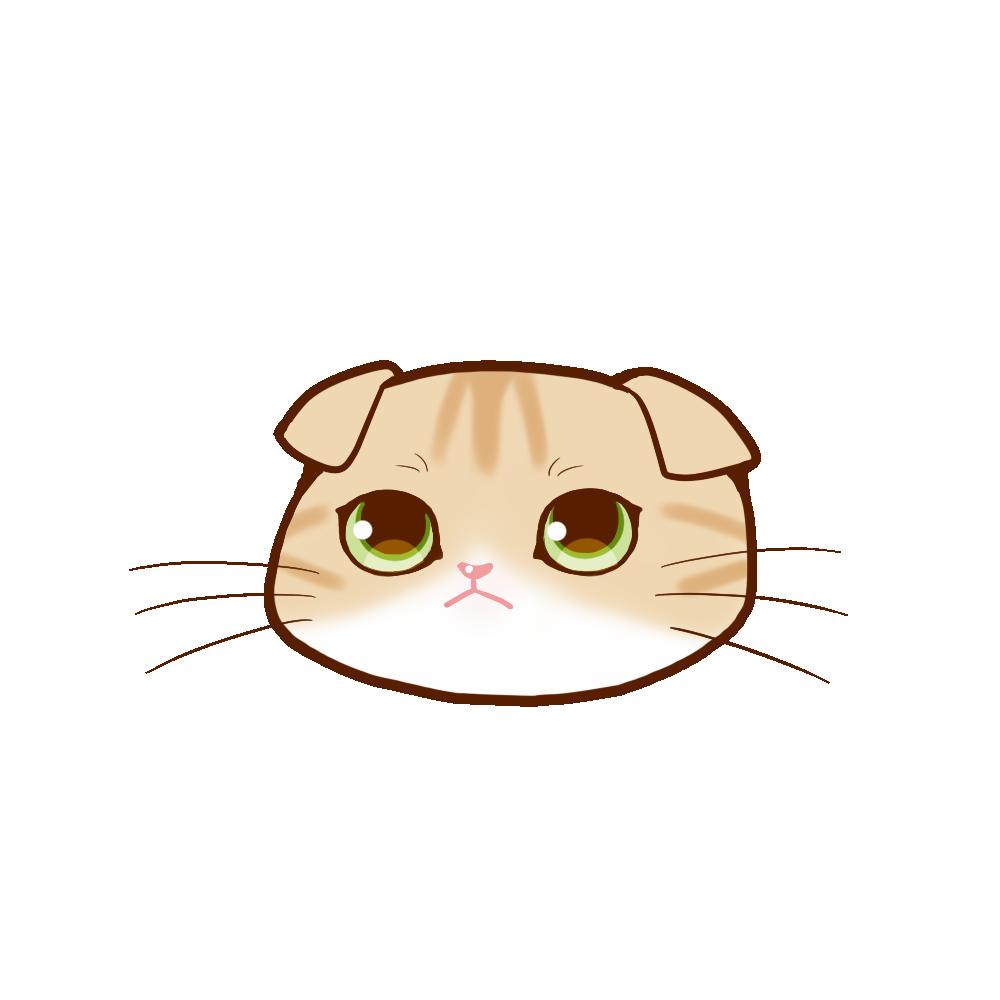 猫イラストまんじゅうスコクリーム&ホワイト