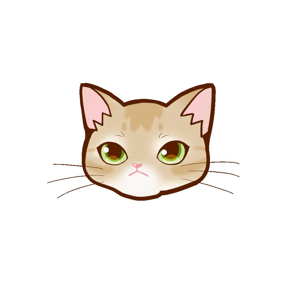 猫イラストまんじゅうアビフォーン