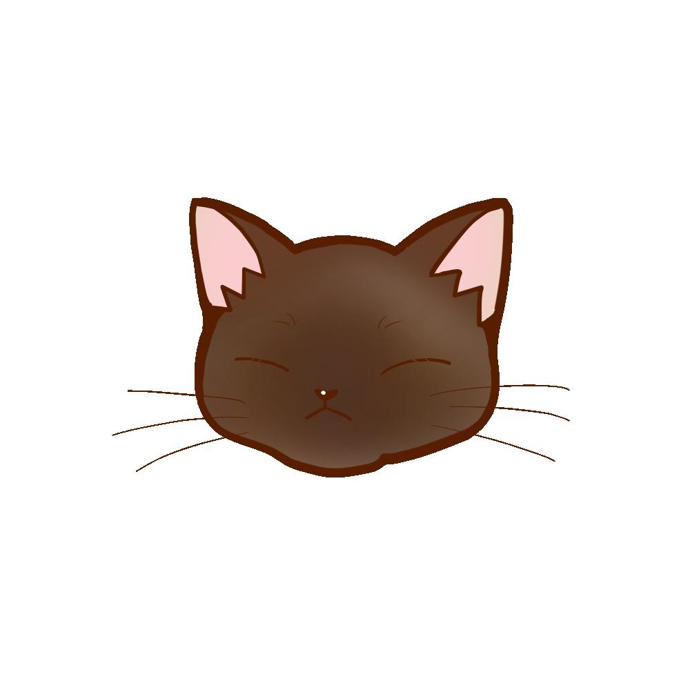 猫イラストまんじゅうバーミーズB