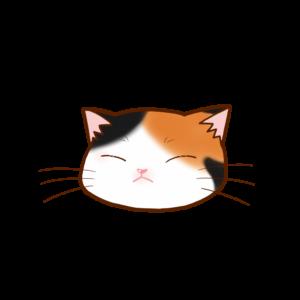 猫イラストまんじゅう三毛B