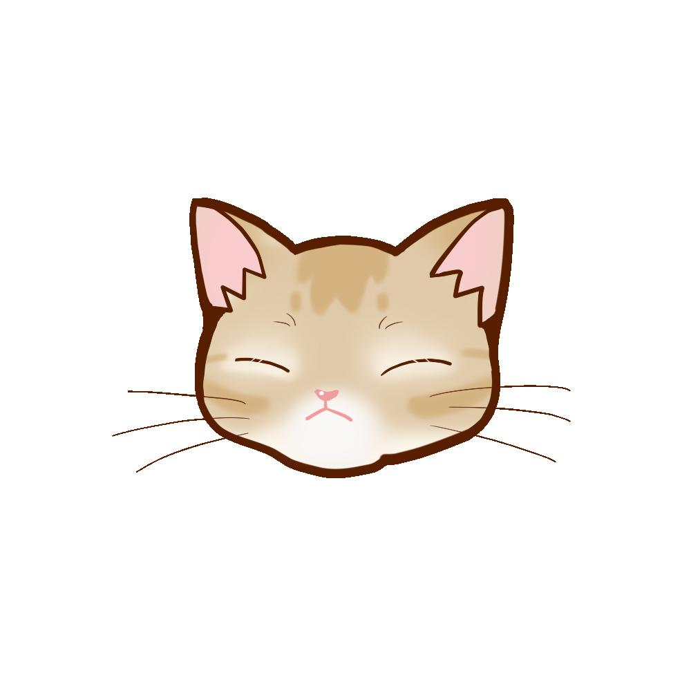 猫イラストまんじゅうアビフォーンB
