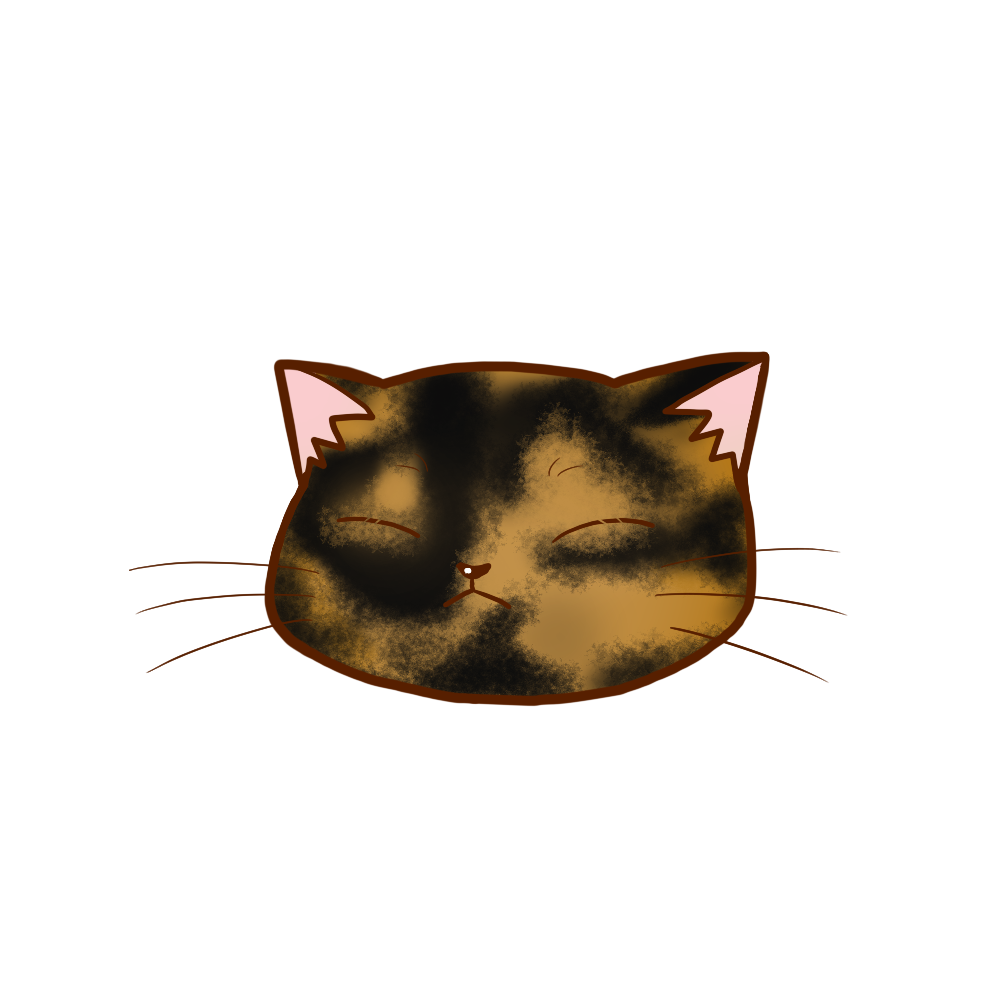 猫イラストまんじゅうサビB