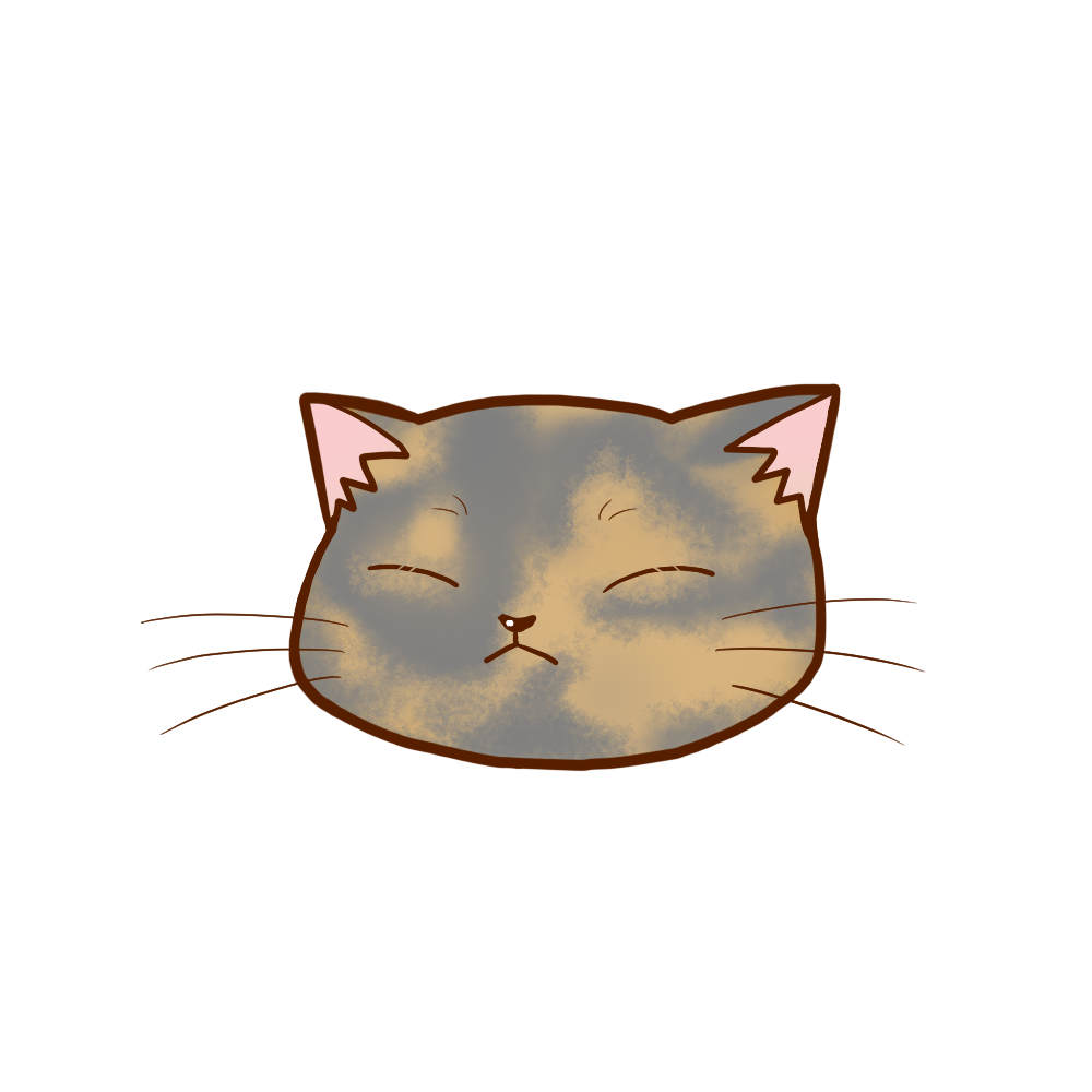 猫イラストまんじゅうサビダイリュートB