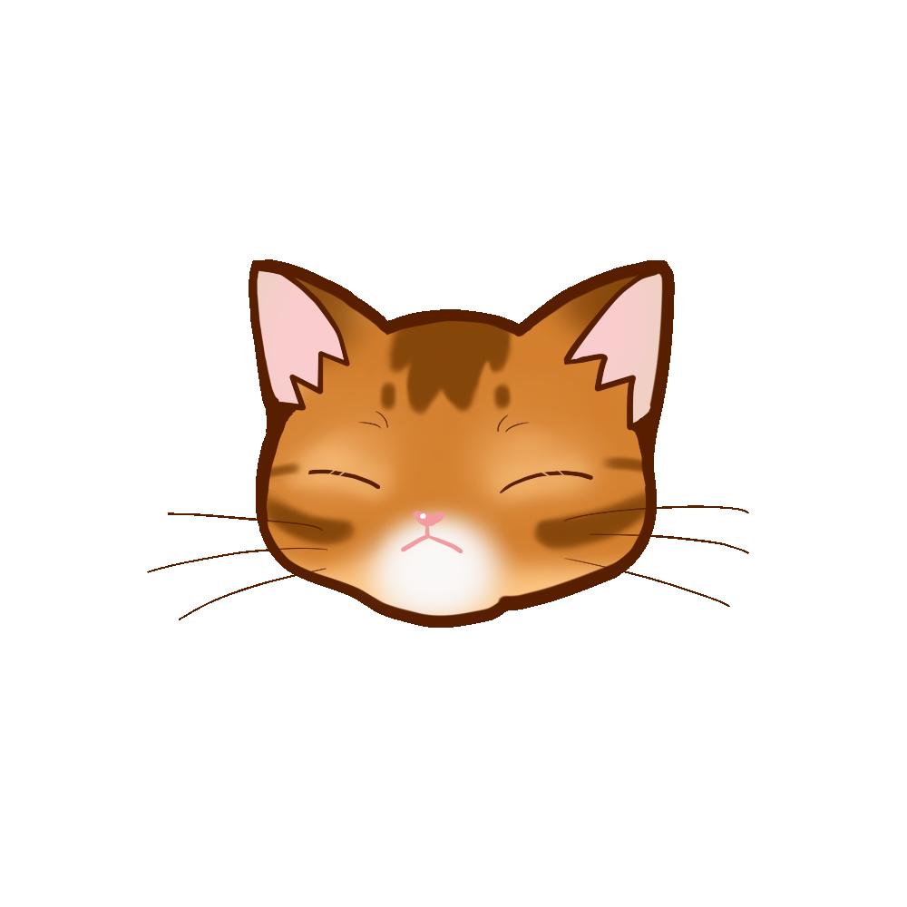 猫イラストまんじゅうアビレッドB