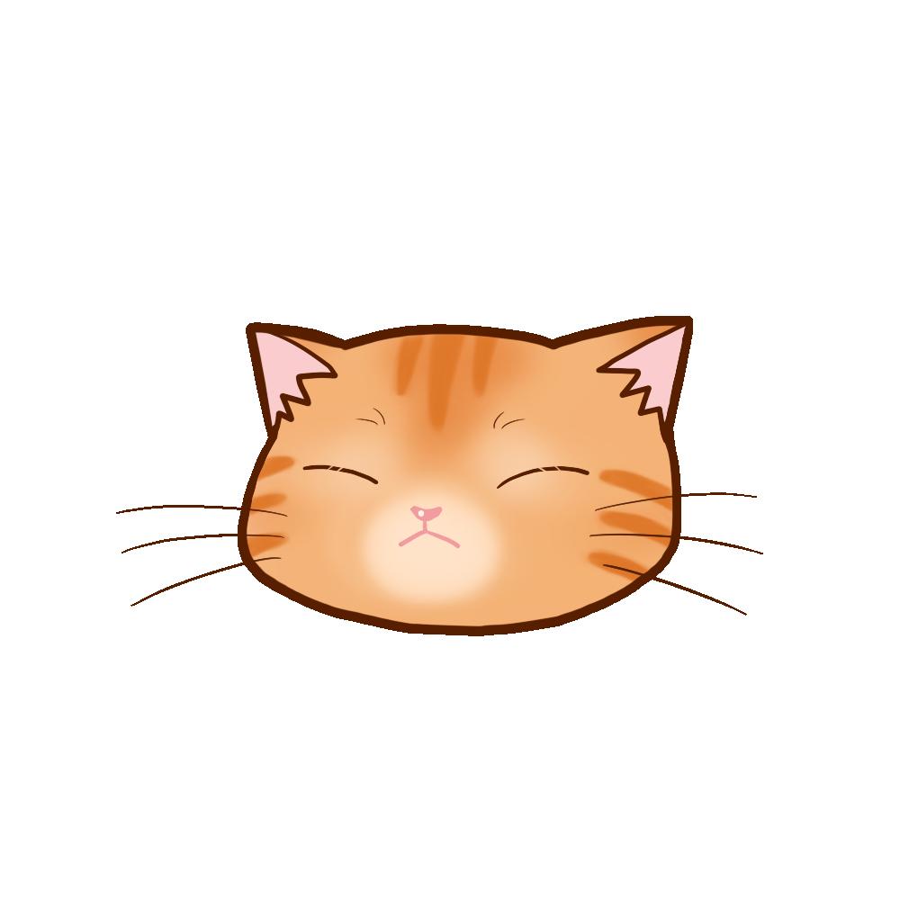 猫イラストまんじゅう茶トラB