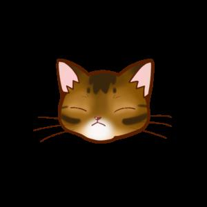 猫イラストまんじゅうアビルディB
