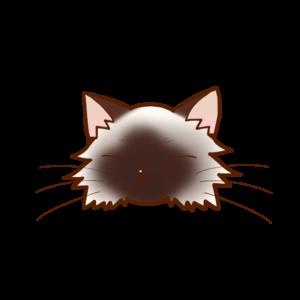 猫イラストまんじゅうバーマンB