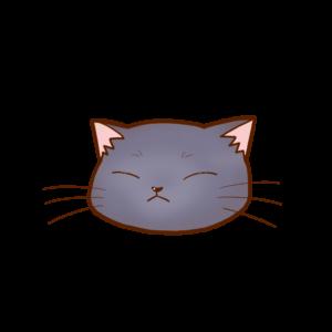 猫イラストまんじゅうシャルトリューB