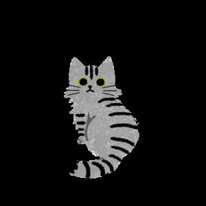 がさがさタッチふりむく猫2サバトラ