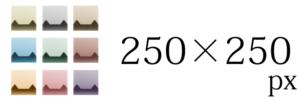 猫画工房バナーサイズ250250
