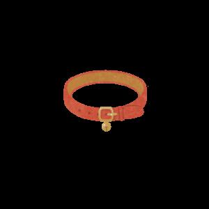 鈴のついた首輪レッド-Collar with a bell red-