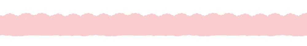 猫の肉球柄レースラインパステルピンク-Cat's padlock pattern lace line pastel pink