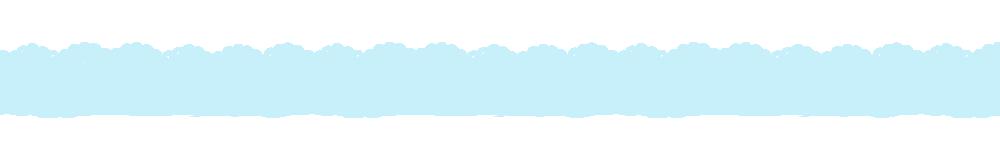 猫の肉球柄レースラインパステルブルー-Cat's padlock pattern lace line pastel blue