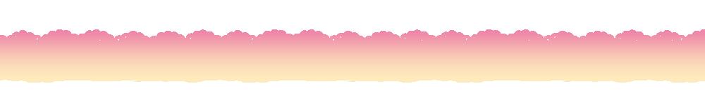 猫の顔のレースラインピンク系グラデーション-Cat face lace line material Pink gradation