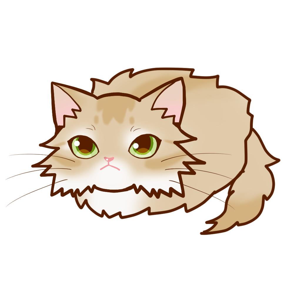 まんじゅうソマリフォーン全身A-Manjyu cat somali-fawn whole body A-