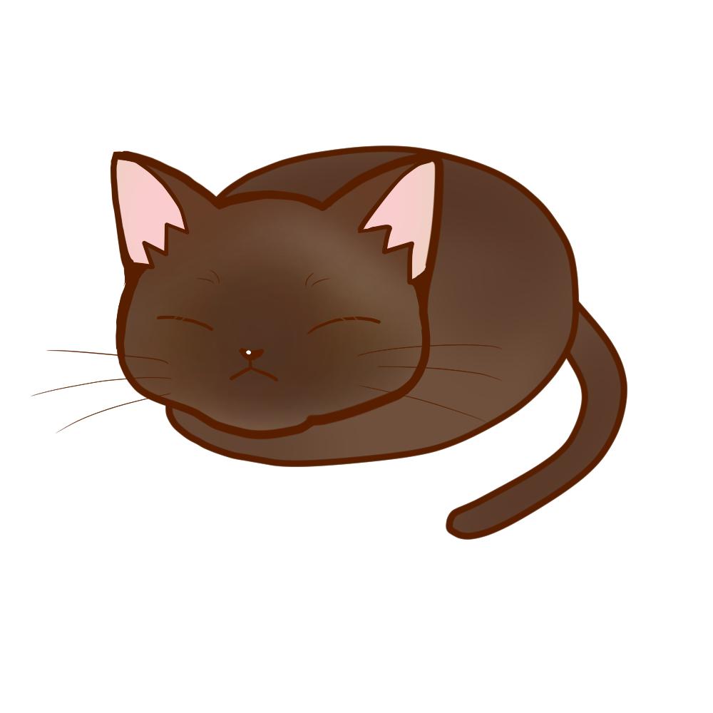 まんじゅうバーミーズ全身B-Manju cat burmese whole body B-