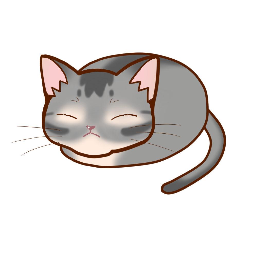 まんじゅうアビブルー全身B-Manju cat aby bluel whole body B-
