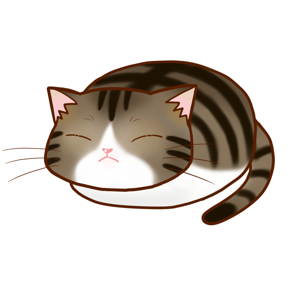 まんじゅうキジ白全身B-Manju cat kijishiro whole body B-