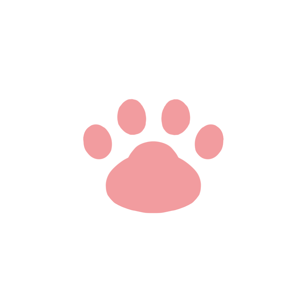 -simple-paw-pad-pink-シンプルな肉球足跡ピンク