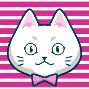 -sns-profile-cat-icon-white2-SNSアイコン白猫2
