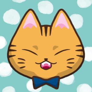 【SNSプロフィール用猫アイコン】茶トラ猫1-sns-profile-cat-icon-chatora1-