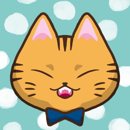 SNSアイコン茶トラ猫1