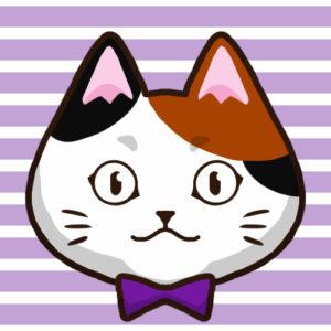 -sns-profile-cat-icon-calico2-SNSアイコン三毛猫2