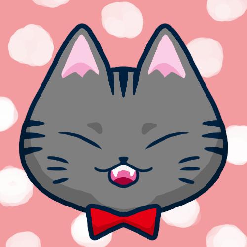 SNSアイコンサバトラ猫1
