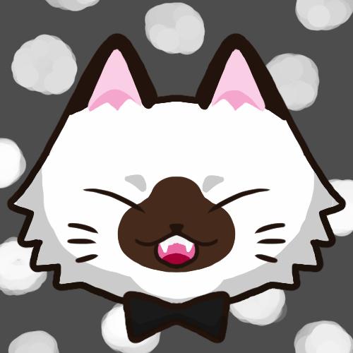 SNSアイコン長毛猫1