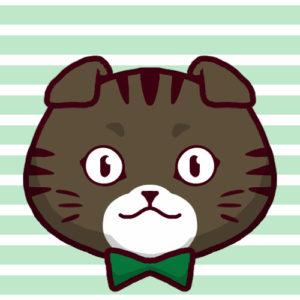 -sns-profile-cat-icon-oremimi2-SNSアイコン折れ耳猫2