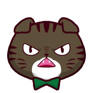 -sns-profile-cat-icon-oremimi3-SNSアイコン折れ耳猫3背景無し
