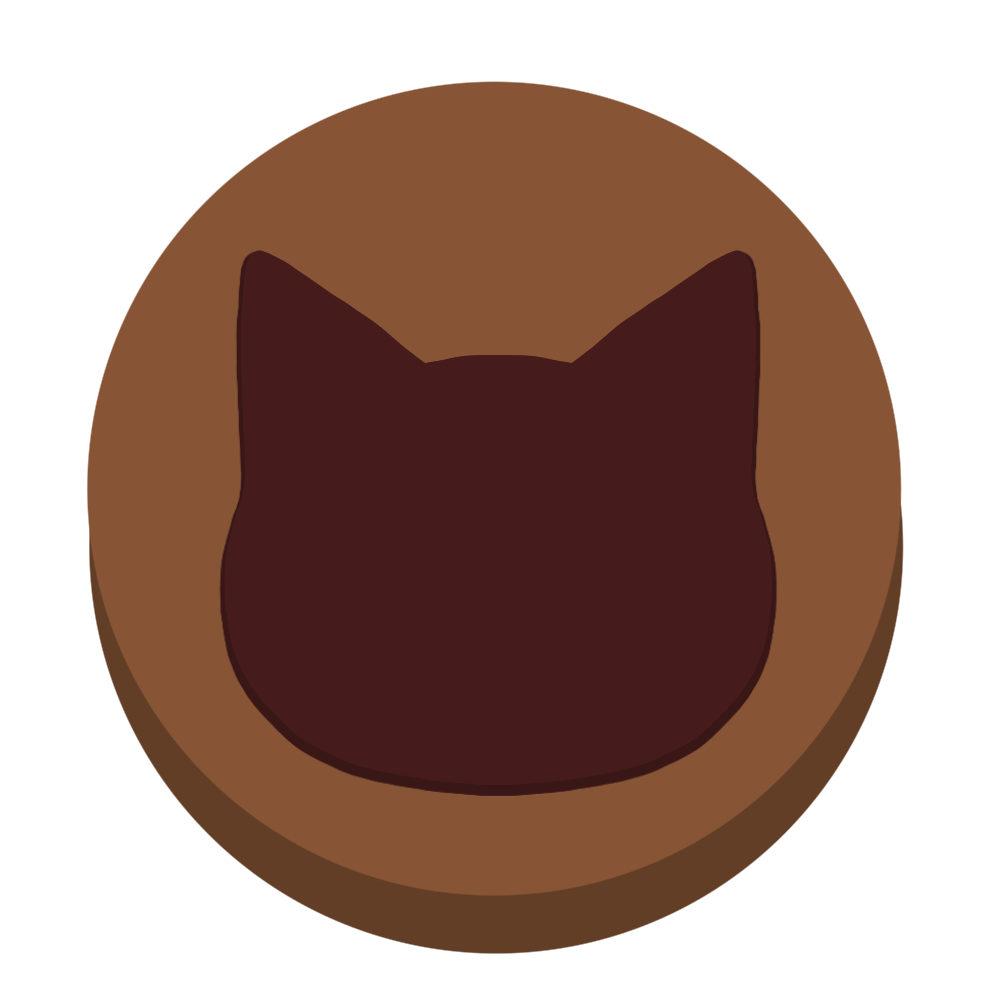 チョコ顔ミルク